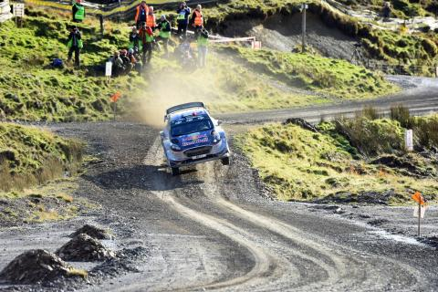 Ogier clinches 2017 WRC title as Evans takes maiden win