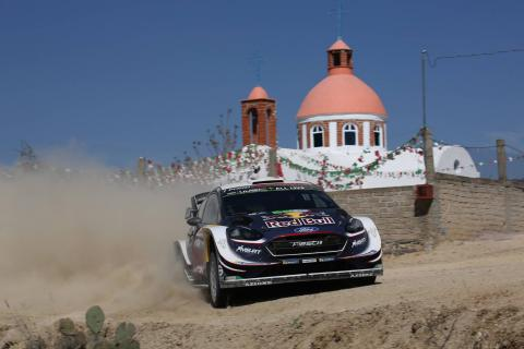 Ogier wins Rally Mexico as Meeke falters late on