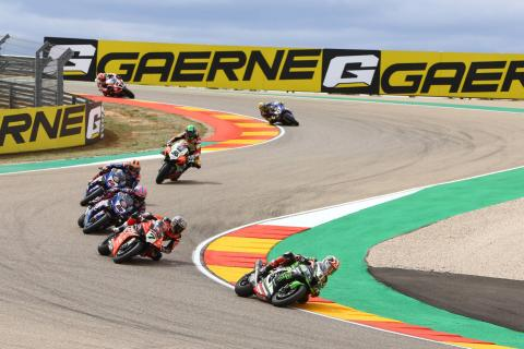 2020 WorldSBK calendar update, Aragon double