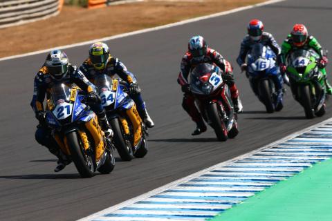 Caricasulo closes gap to Krummenacher with Jerez win