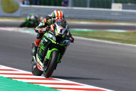 Rea takes full advantage of Bautista slip with frantic victory
