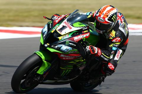 Rea completes turnaround with triple triumph at Donington Park