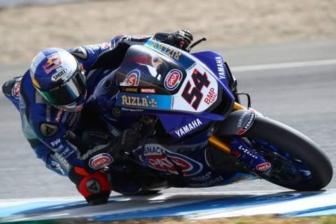Razgatlioglu heads up Yamaha 1-2 in Portimao FP1