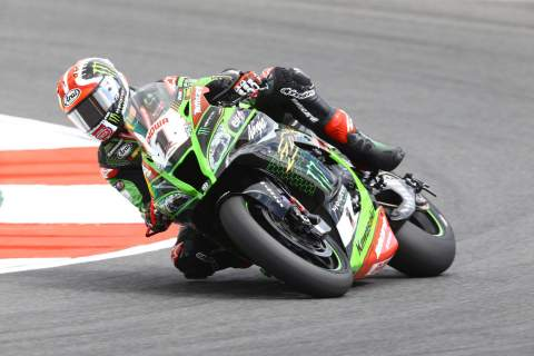Rea fights back with Portimao pole, Redding 8th after crash