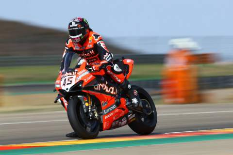 Redding fights back with gritty Aragon WorldSBK victory, title lead