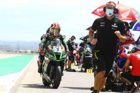 WorldSBK Aragon - Warm-up Results