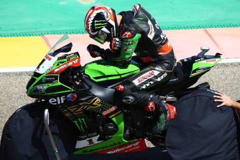 Another record, another WorldSBK pole for Rea in Aragon
