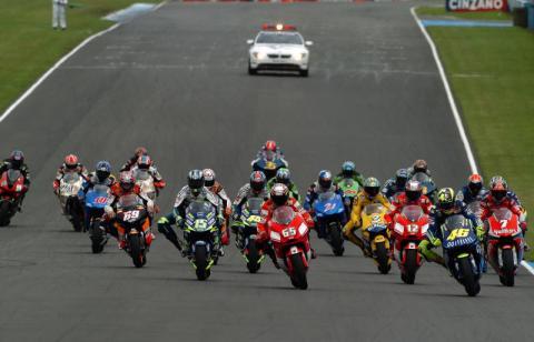 Rossi wins British GP, Edwards on podium.