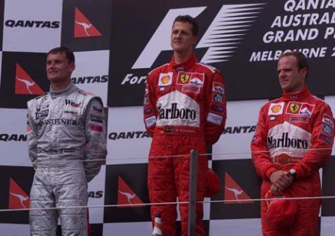 Australian GP 2001 - Tragedy clouds Michael's win.