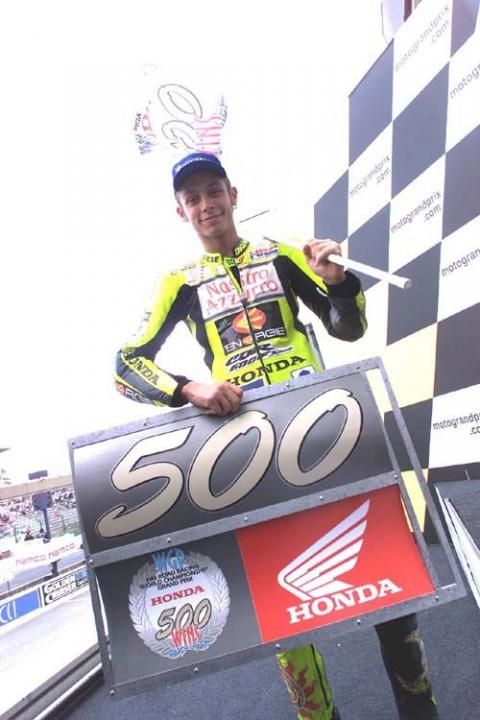 Honda: 500 Motorcycle Grand Prix wins.