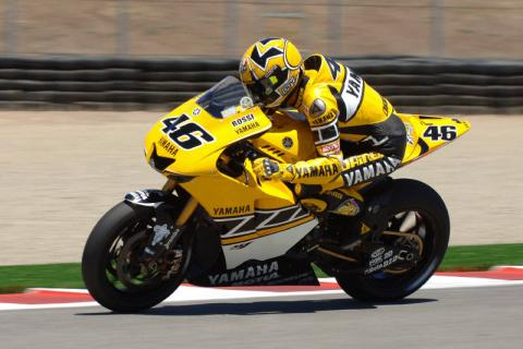 Press Snoop: Hayden rules FP3, Rossi in a jam.