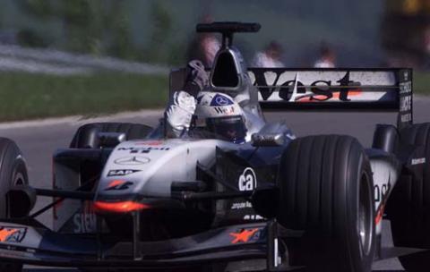 Austrian GP 2001 - Coulthard's seventh heaven.