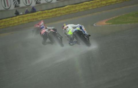 Vincent gets better of wet Suzuka.