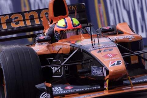 Stripping down the OrangeArrows livery.