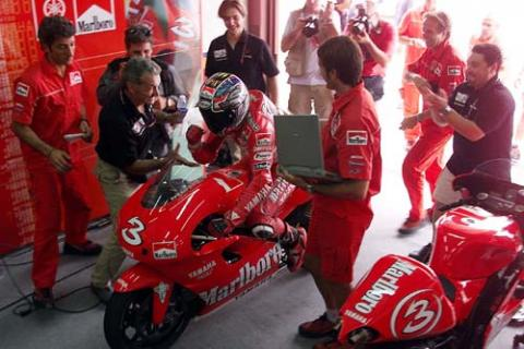 The end of Marlboro Yamaha.
