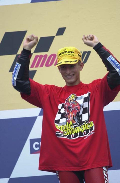 125cc World Championship 2001 season review.