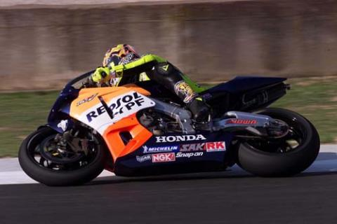 Rossi does it again.