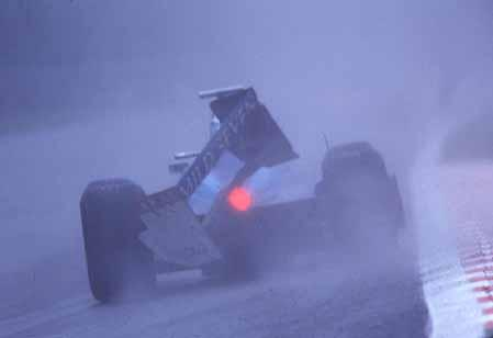 Giancarlo Fisichella's lap of Spa-Francorchamps.