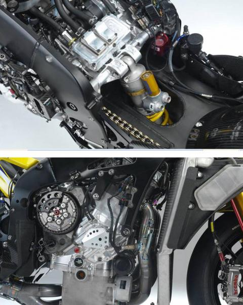 Evolution of the YZR-M1 - part two.