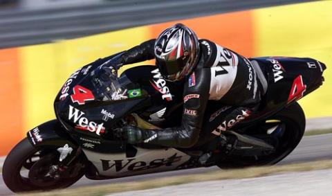 Barros on provisional front row in Jerez.