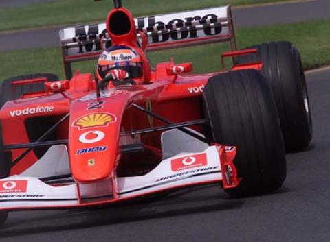 Qualifying times - Australian Grand Prix.
