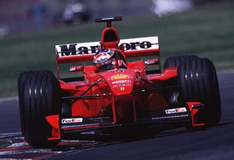 Schumacher Tops Friday Practice.