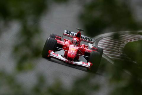 Schumacher in control as free practice ends.
