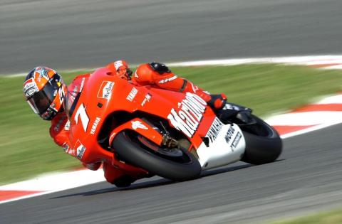 Marlboro Yamaha in the hunt for pole at Assen.