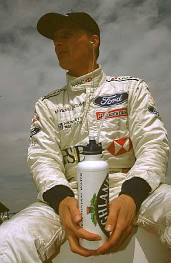 Johnny Herbert: Farewell to a favourite.