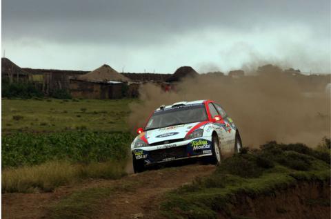 Result - Inmarsat Safari Rally.