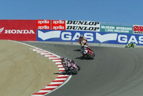 Lap of Laguna Seca with Colin Edwards.