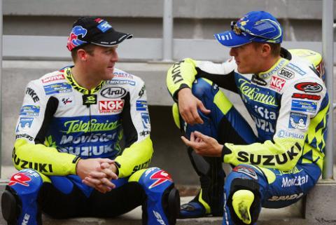 Suzuki cut times - but lose positions.