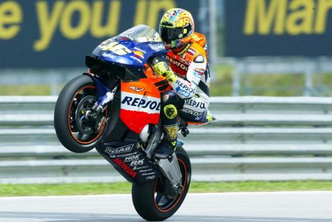 Honda riders joust for final share of glory.