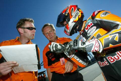 KTM find top speed.