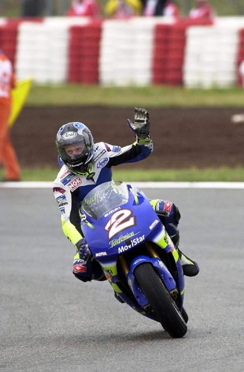 Rossi wins but Kenny conquers.