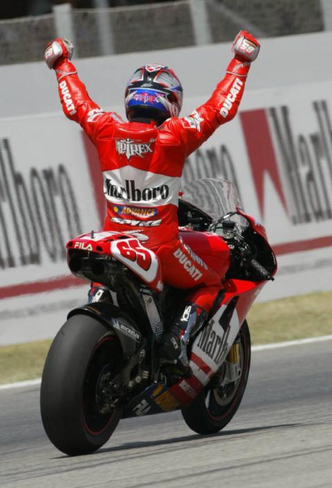 'Fantastic day' in Ducati history.