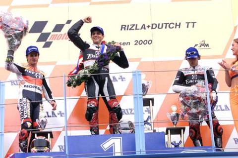 Barros win tops a wild day at Assen