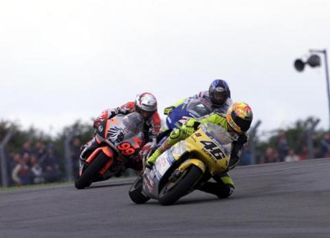 Yamaha setup report - Donington.