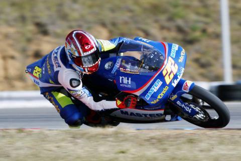 Son of a legend Nieto wins first GP.