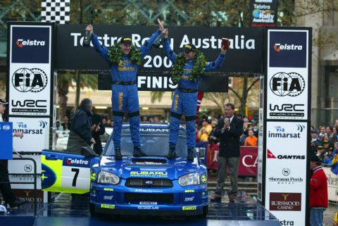 Result - Telstra Rally Australia.