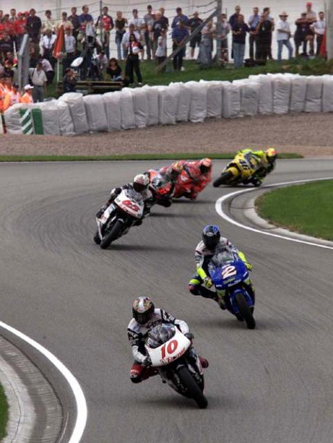 Sachsenring - a long way from home.