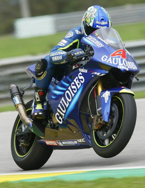 Yamaha set-up report - Sepang.
