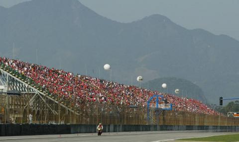 Rossi wins in Rio, Tamada takes podium.