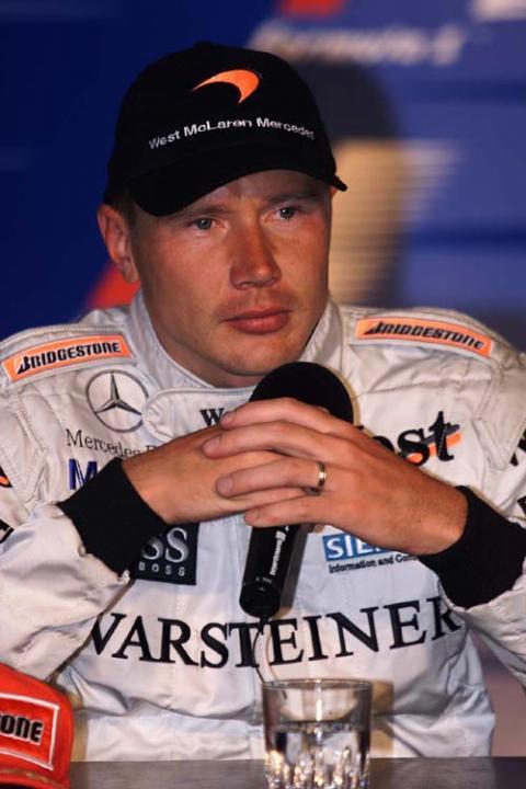 Post-race press conference - British GP.