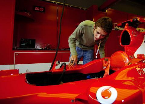 F1 talks Rossi...