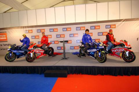 Barcelona treated as Yamaha unveils new line-up.
