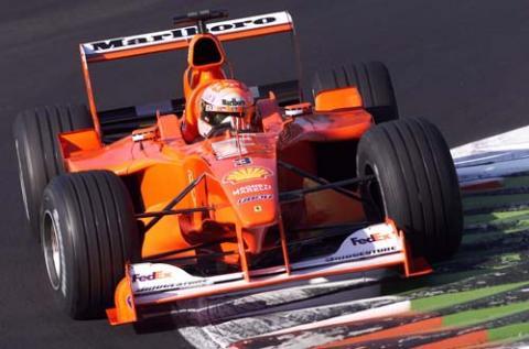 Schumacher tolls championship bell.