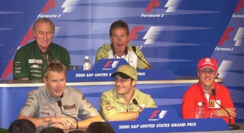Thursday press conference - US Grand Prix.