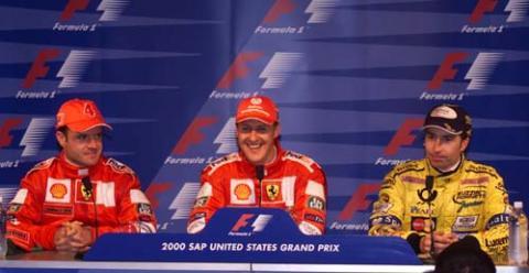 Post-race press conference - US Grand Prix.