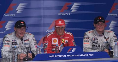 Qualifying press conference - Malaysian GP.